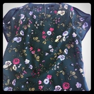 Ann Taylor Floral Shift Dress